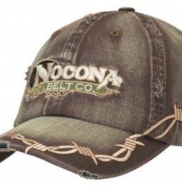 Nocona Ball Cap - Nocona with Barb Wire