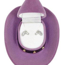 WEX Earring - Horse Head in Gift Box