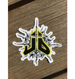 Jacob D'Arezzo JD Sticker Pack Yellow (Pack of 4)