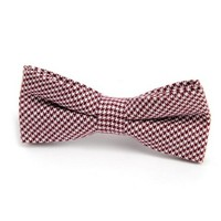 Appaman Bowtie Red Houndstooth