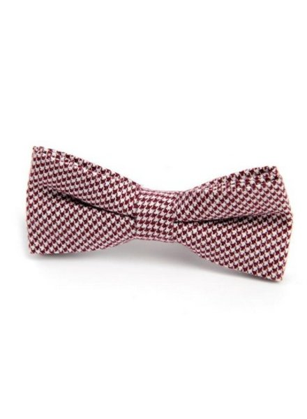 Appaman Appaman Bowtie Red Houndstooth