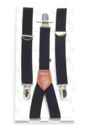 Urban Sunday Urban Sunday Suspenders Black 21104S