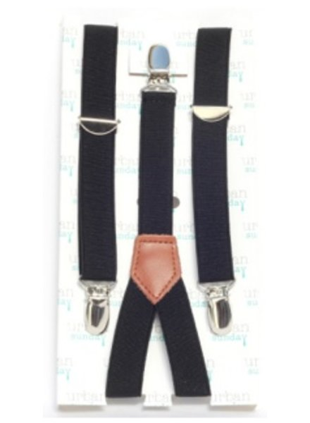 Urban Sunday Urban Sunday Suspenders Black 21104S