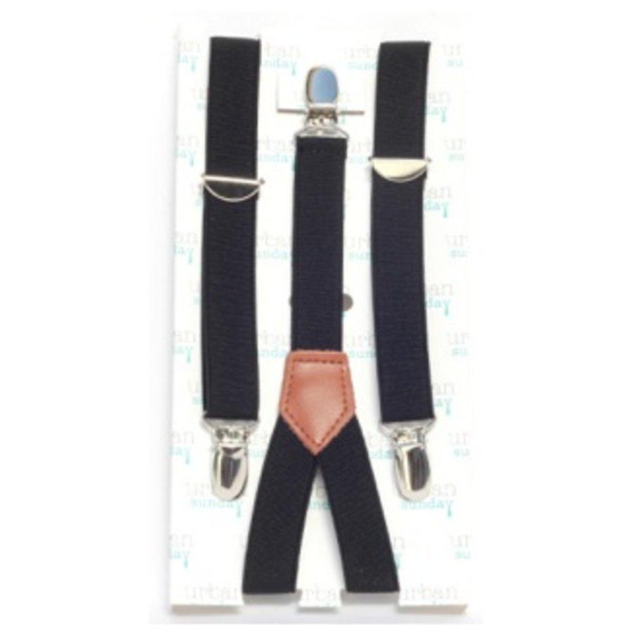 Urban Sunday Suspenders Black 21104S