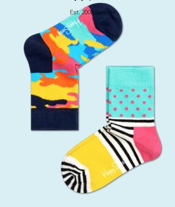 HS Socks HS Socks 2PK Kids KBC02-069C