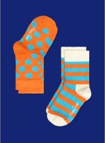 Happy Socks 2PK Kids KSA02-029