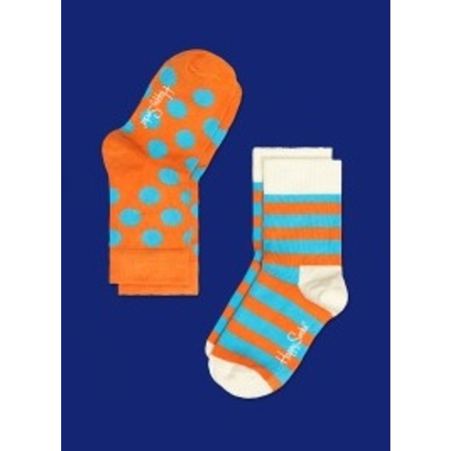 Happy Socks 2PK Kids