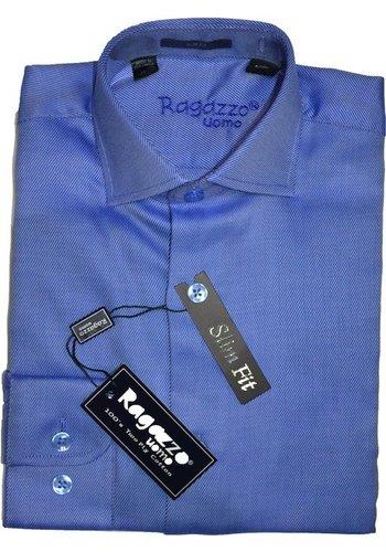 Ragazzo Men's Shirt Diagional Slim Fit ROBERT2200