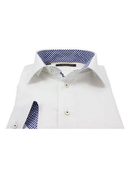 Lipson Mens Shirt Contemporary Fit pattern trim 7501-67795638