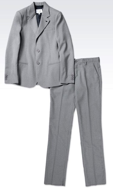 Armani Junior Armani Junior Suit Cool Wool 04D02