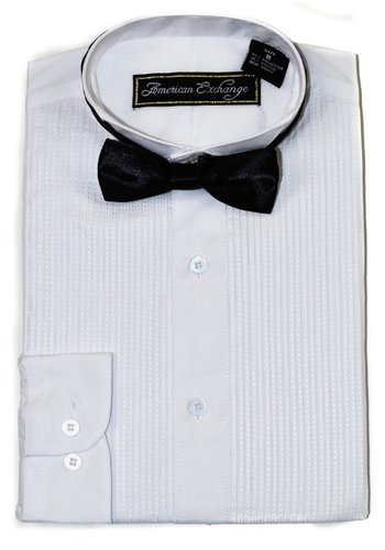 Isaac Mizrahi American Exchange Boys Tuxedo Shirt 056E01