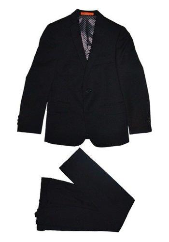 Tallia Tallia Boys Husky Black Suit  DZH001