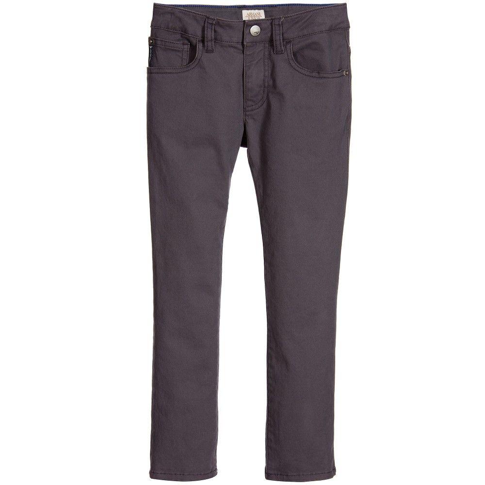 Armani Junior 5 Pocket Pant 162 6X4J11