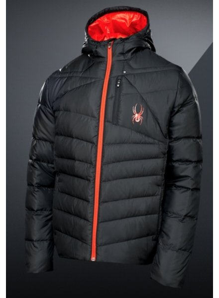 Spyder Spyder Mens Down Jacket Dolomite Hoody