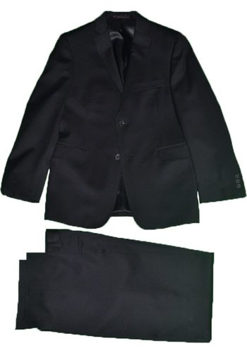 Hickey Freeman Boys Black Wool Suit 0010