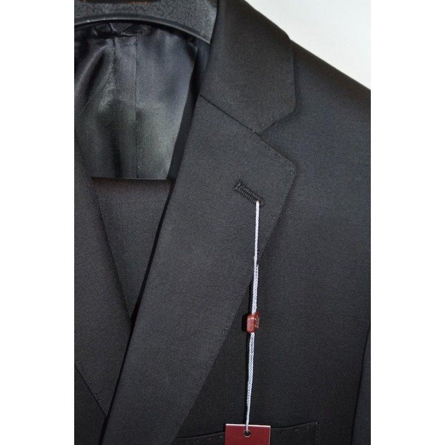 Hickey Freeman Boys Suit Black 0010