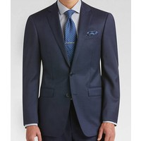 NorthBoys Extreme Slim Mens Wool Navy Suit 5FY0111