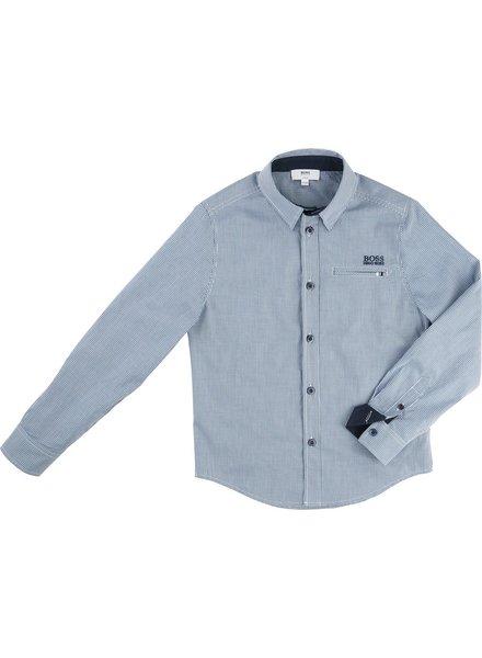 Hugo Boss Hugo Boss Boys Shirt Slim Fit L/S 162 J25A20