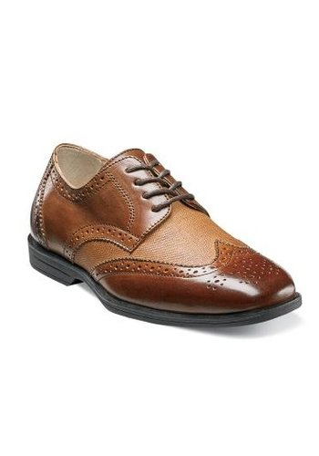 Florsheim Florsheim Kid's Shoe Reveal Wingtip Jr. w/linen