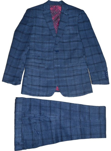 Isaac Mizrahi Isaac Mizrahi Boys Slim 3 Piece Suit 171 ST2066