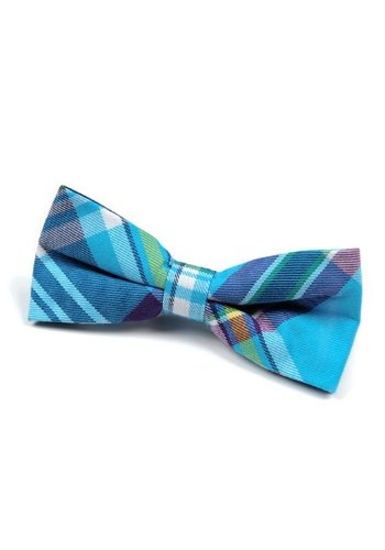 Appaman Appaman Bowtie Aqua Plaid