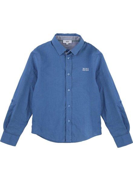 Hugo Boss Hugo Boss Boys Shirt Slim Fit L/S 171 J25A84