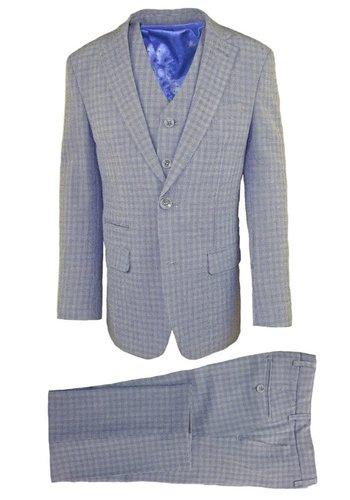 Isaac Mizrahi Isaac Mizrahi Boys Slim 3 Piece Suit