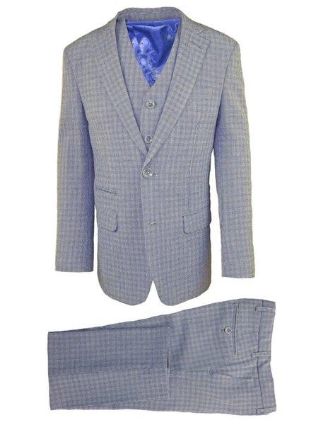 Isaac Mizrahi Isaac Mizrahi Boys Slim 3 Piece Suit 171 ST2082