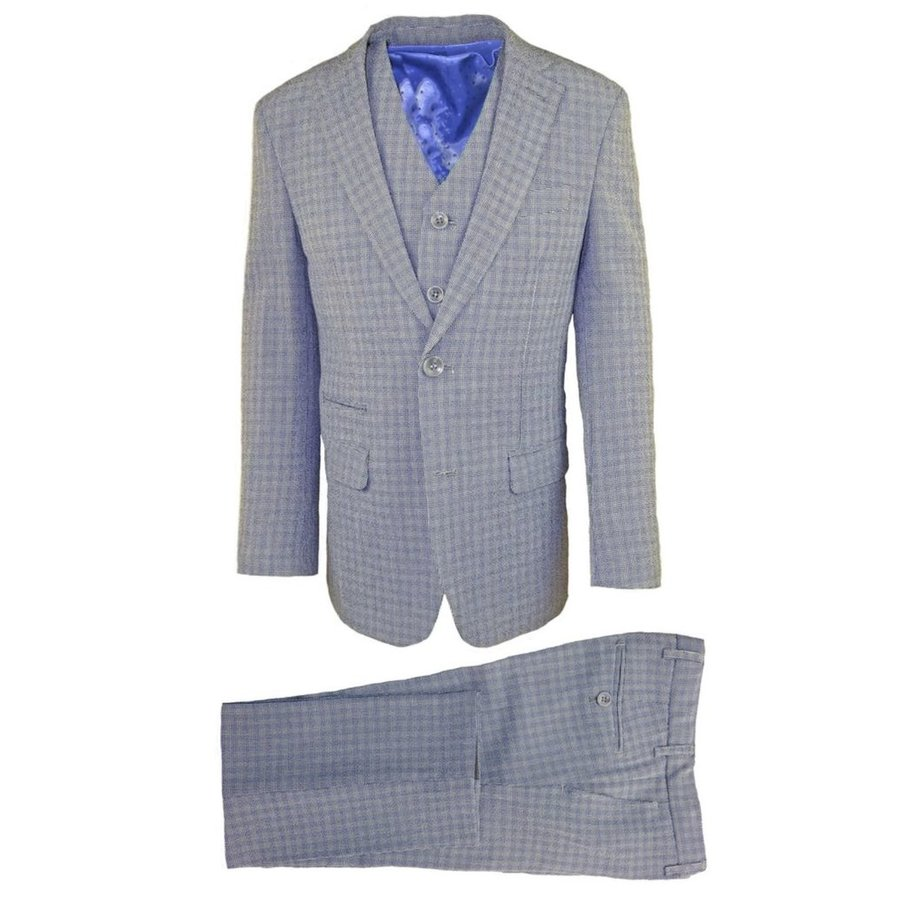 Isaac Mizrahi Boys Slim 3 Piece Suit 171 ST2082