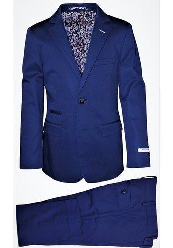 Isaac Mizrahi Isaac Mizrahi Boys Slim Cotton Suit