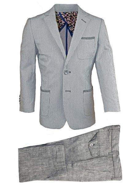 Isaac Mizrahi Isaac Mizrahi Boys Slim Linen Blazer and Pant 171 ST2089