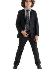 Appaman Appaman Mod Boys Slim Suit Black
