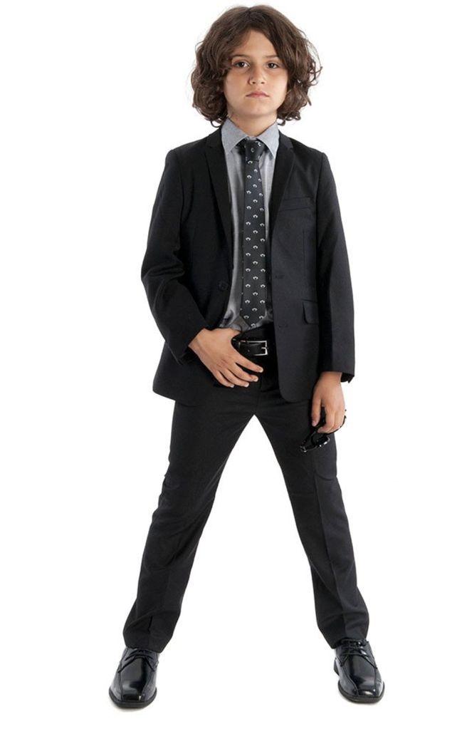 Appaman Appaman Mod Boys Slim Suit Black