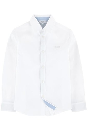 Hugo Boss Hugo Boss Boys Slim Dress Shirt 172 J25P03