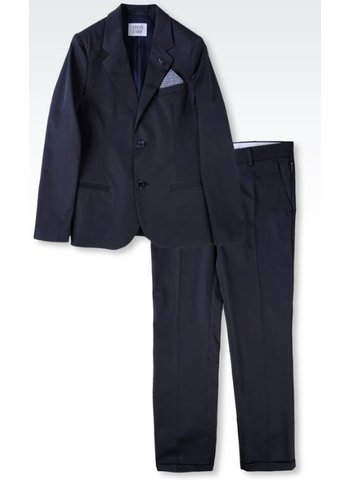 Armani Junior Armani Junior Suit Cotton