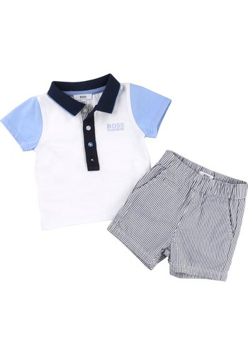 Hugo Boss Hugo Boss Baby Polo+Shorts Set