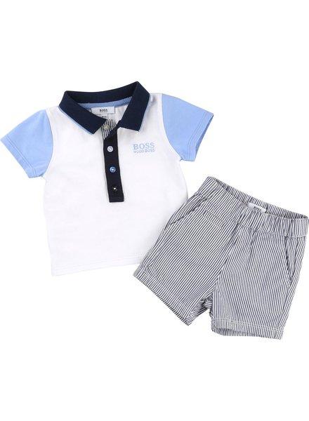 Hugo Boss Hugo Boss Baby Polo+Shorts Set 171 J98173