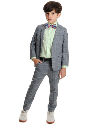 Appaman Appaman Mod Boys Slim Suit Prince of Wales
