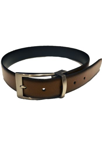 Paul Lawrence Paul Lawrence Reversible Boys Belt (Black/Cognac)