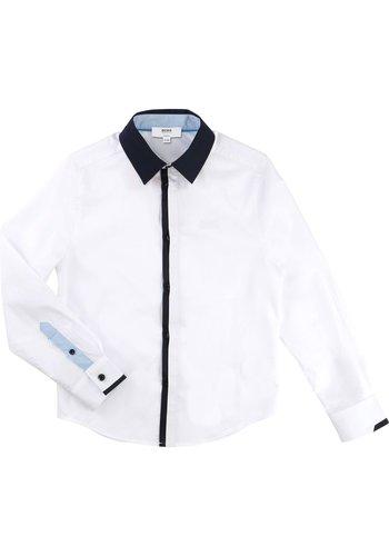 Hugo Boss Hugo Boss Boys Shirt Slim Fit L/S
