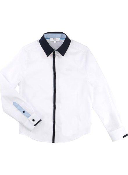 Hugo Boss Hugo Boss Boys Shirt Slim Fit L/S 171 J25A81-10B
