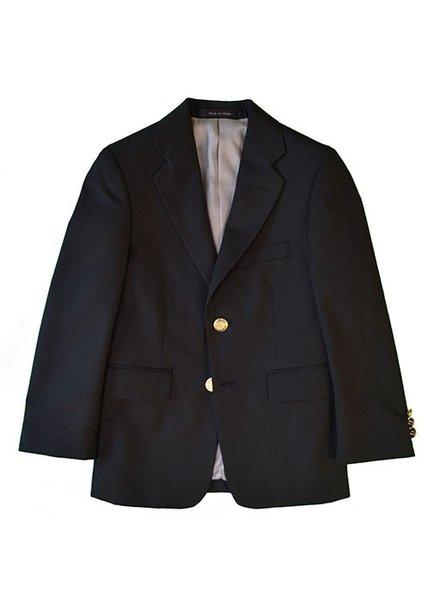 Michael Kors Michael Kors Boys Blazer  black w/ silver buttons