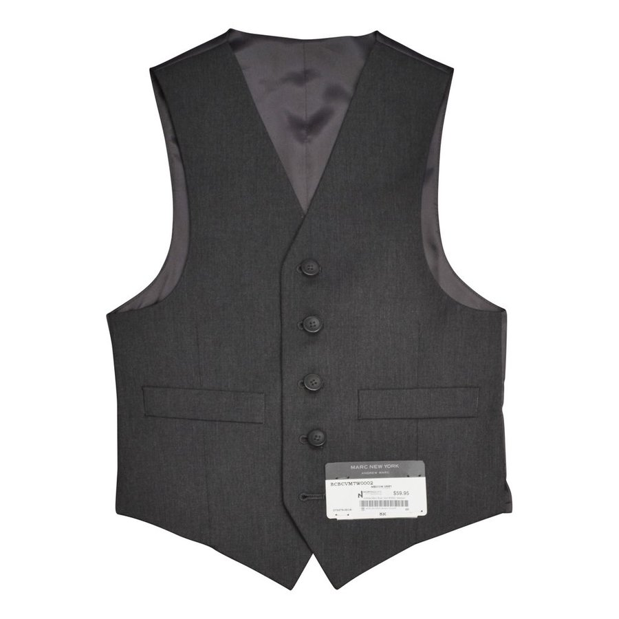 Andrew Marc Boys Grey Vest W0002