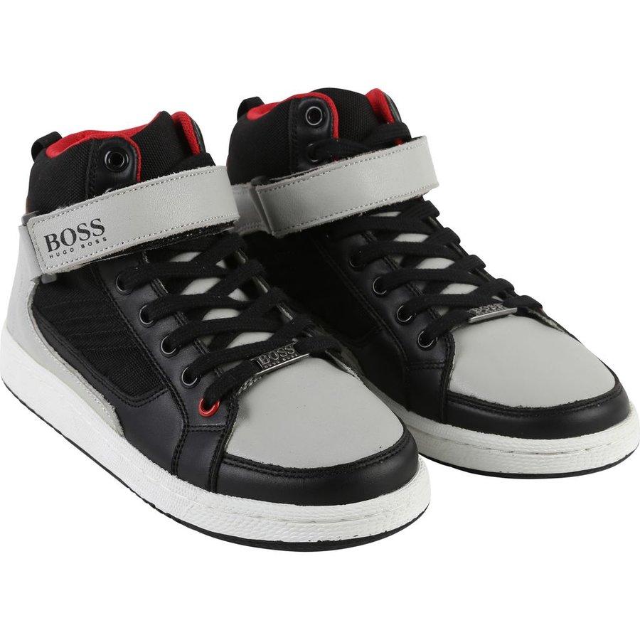 Hugo Boss Boys High Top Shoe 172 J29141