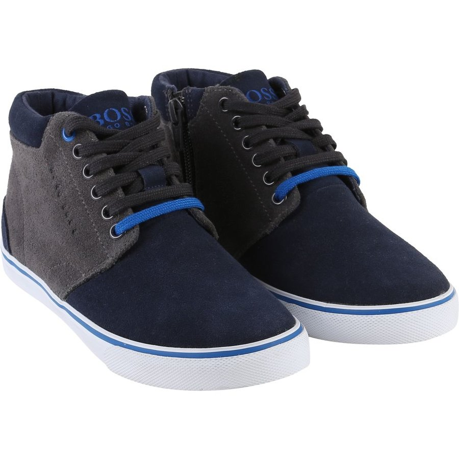 Hugo Boss Boys High Top Shoe 172 J29138