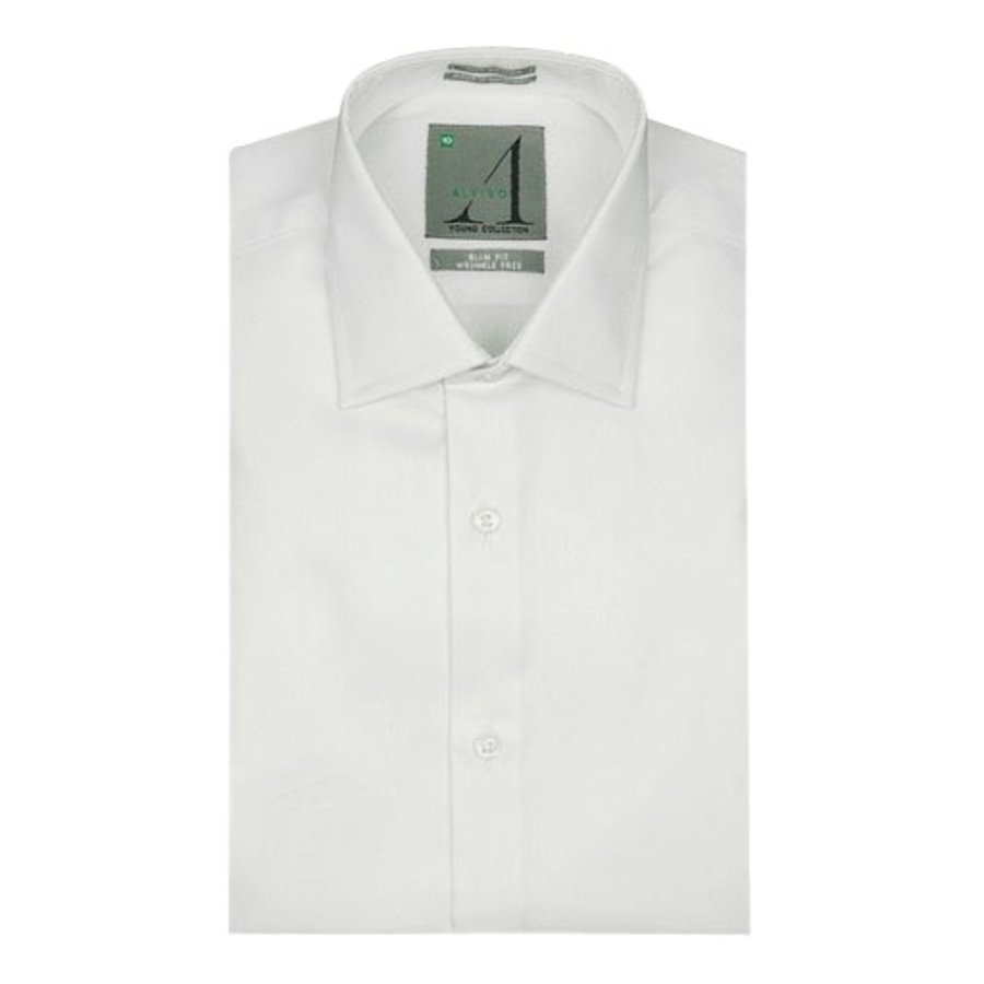 Alviso Boys Slim Fit Non-Iron Dress Shirt