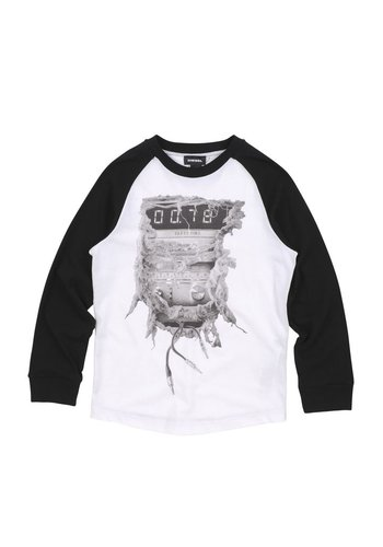 Diesel Diesel Boys T-Shirt Tapis
