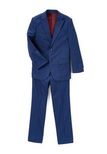 Isaac Mizrahi Isaac Mizrahi Boys Slim 3 Piece Suit Birdseye