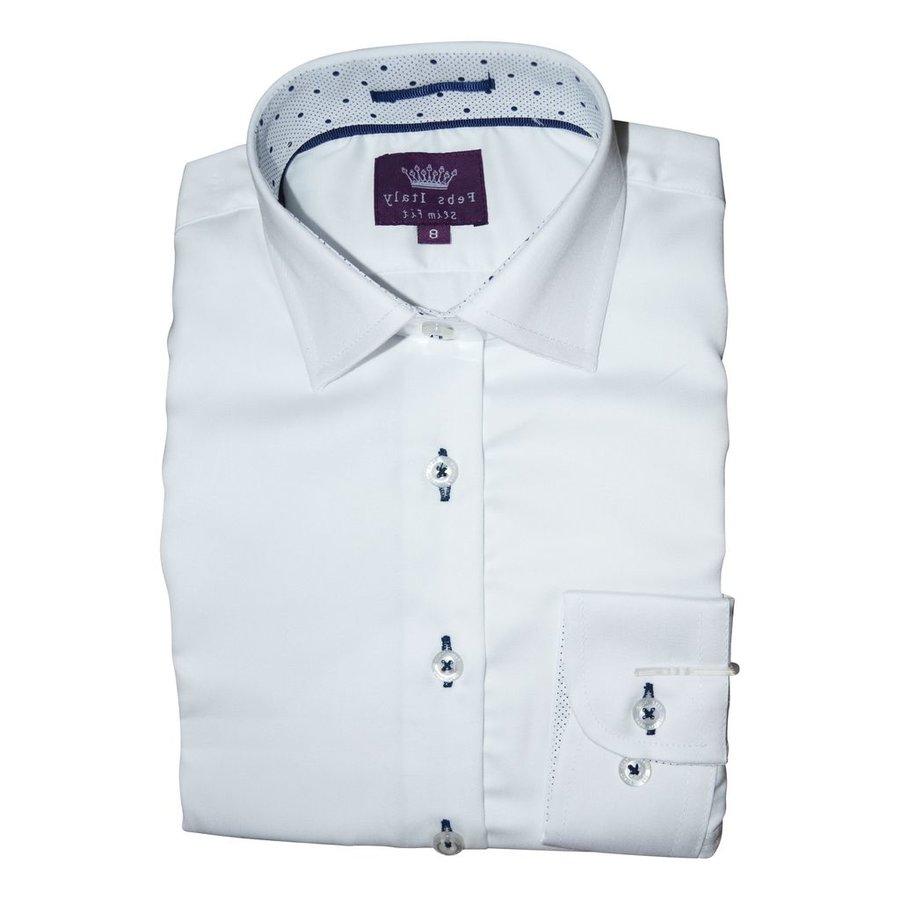 Febs Italy Boys Slim Fit Cotton Shirt 5203
