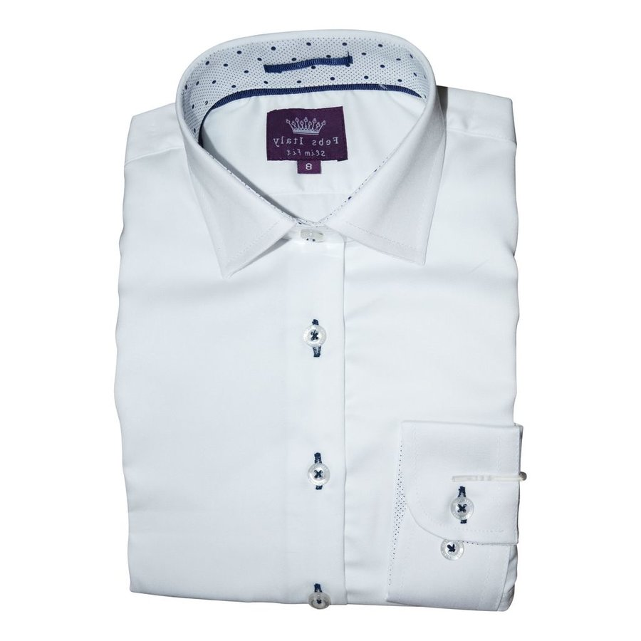 Febs Italy Boys Slim Fit Cotton Shirt